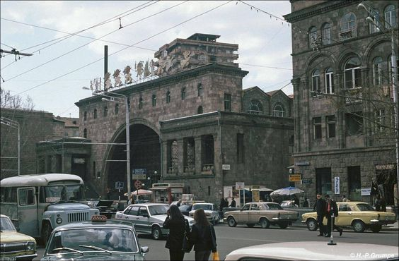 Zentralmarkt Eriwan, Armenien