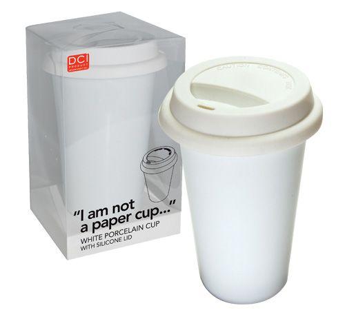 I am not a paper cup...
