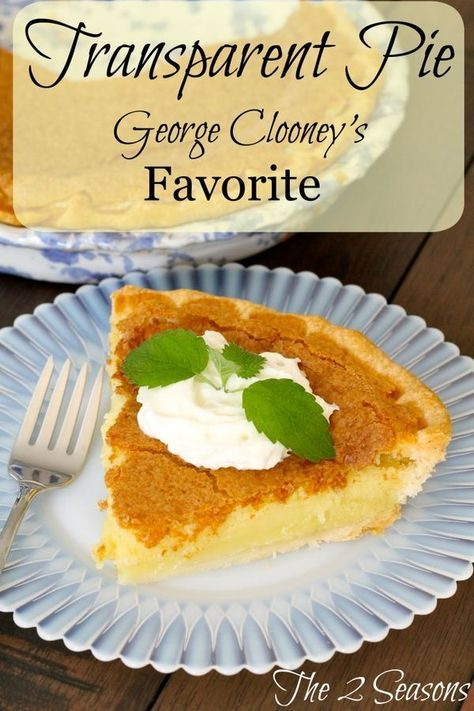 George Clooney's Favorite Pie Recipe