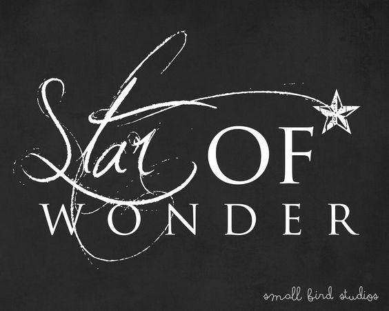 Star of Wonder #FREE Christmas Printable: