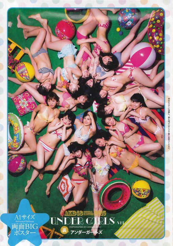 #AKB48 #undergirls #bikini #idols #japan #jpop #Akihabara #sousenkyo #mizugi #2015