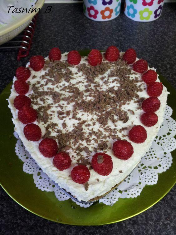 Tasnim's world: Malinova torta