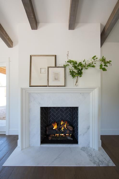 50 Favorites For Fridaylove The Simplicity Of The Arrangement More Fireplace Ideas And Care Tips At Home Fireplace Marble Fireplace Surround Fireplace Design