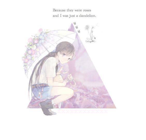 """""""Dandelion"""" by xxsasukexkiyokoxx ❤ liked on Polyvore featuring art"""