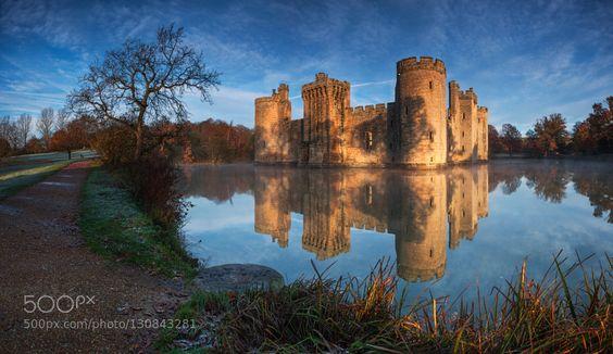 Bodiam Castle by Rafal756