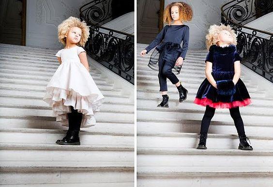 Moda Elegante y Glamorosa Para Niños y Niñas: Jean Paul Gautier - Niños
