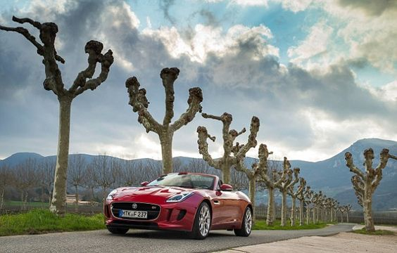 New Jaguar F-Type sports car has a top speed of 186mph