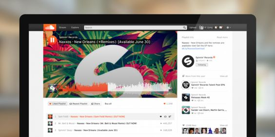 """""""SoundCloud redesigns its Web interface to match its iOS and Android apps"""""""