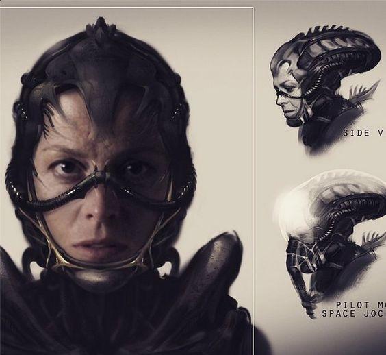"""A piece of concept art from Neill Blomkamp's """"Alien"""" project. - Neill Blomkamp/Instagram"""