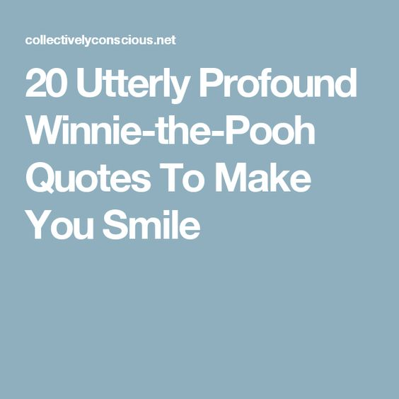20 Utterly Profound Winnie-the-Pooh Quotes To Make You