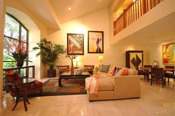 Decorating A Large Living Room Interesting Design Decoration