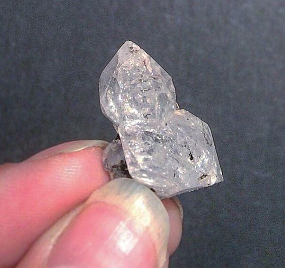 Herkimer Diamond Quartz Small Twinning DT by PhenomenalGems