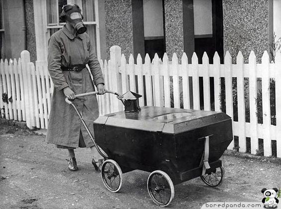 Gas War Resistant Pram (England, 1938)