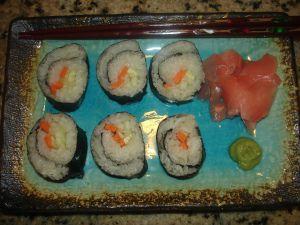 Sugar Free Sushi made with Stevia