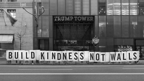 Build Kindness Not Walls – Sagmeister & Walsh: