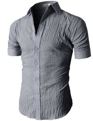 Casual Button Down Short Sleeve Shirts
