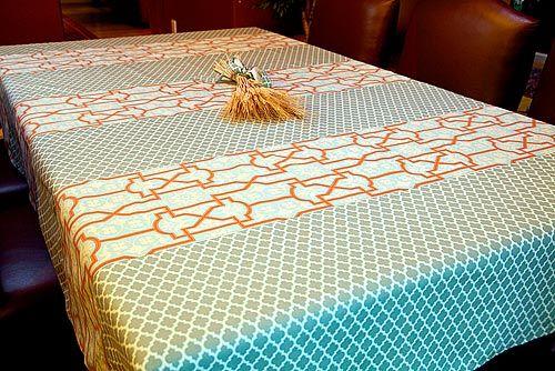 Table cloth tutorial