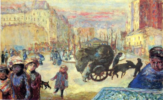 Morning in Paris by Pierre Bonnard Size: 76.5x122 cm Medium: oil on canvas