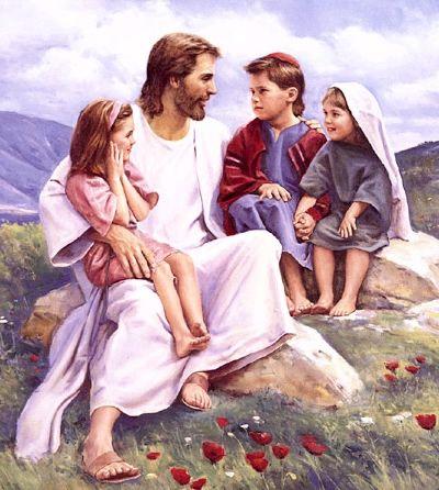 desenho jesus ensina as crianças - Pesquisa Google