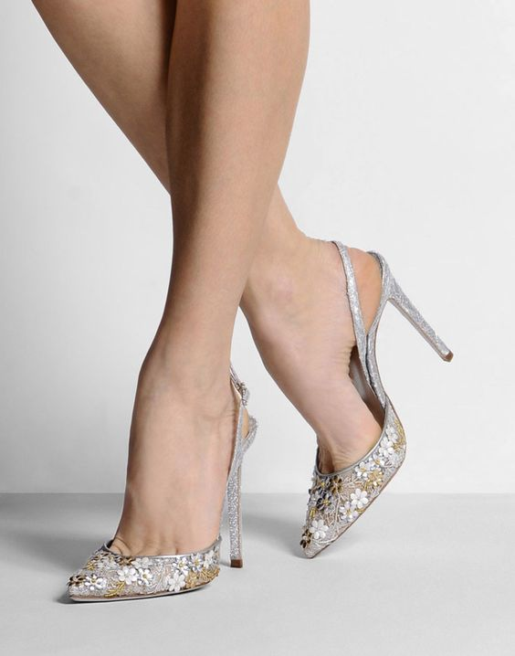 Rene Caovilla Slingback Pumps Bridal Shoes SS 2015 | Wedding Shoes ...