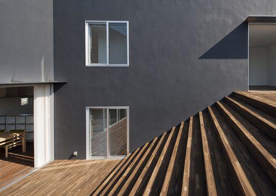 Dezeen » Blog Archive » Terrace Step House by HUG