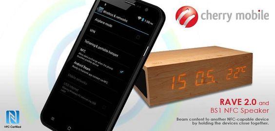 Cherry Mobile Rave 2.0: quad-core processor, 12MP camera, NFC, Php8,999