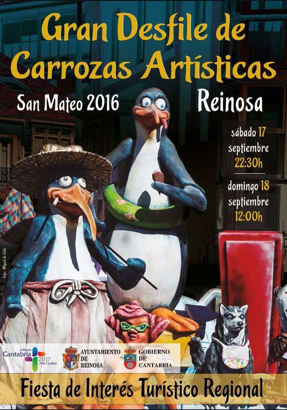 Gran desfile de carrozas artísticas - Turismo de Cantabria - Portal Oficial de…