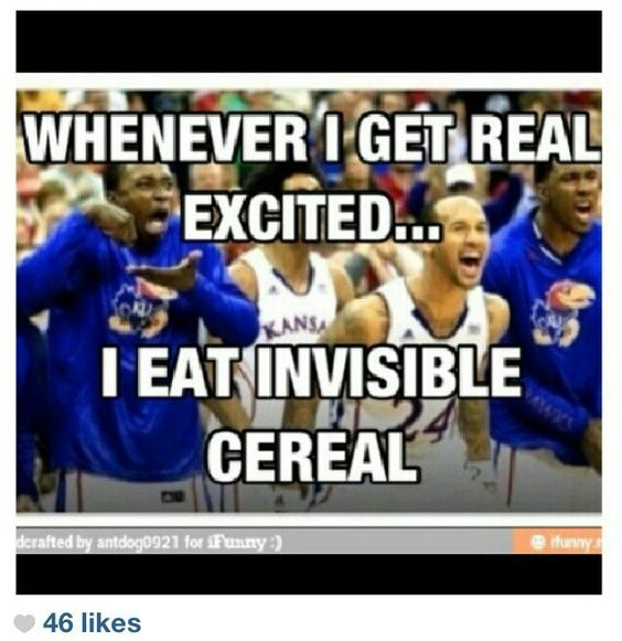 Invisible cereal!!