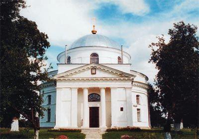 Свято-Николаевский храм в Диканьке. Архитектор Н.А. Львов.