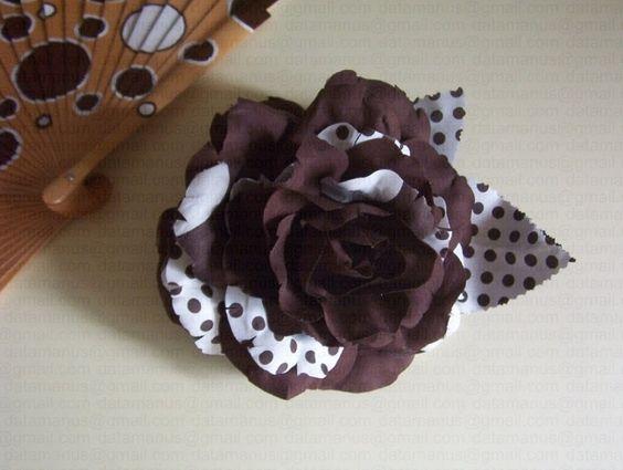 Como endurecer telas para hacer flores con gelatina - Manualidades con tela ...