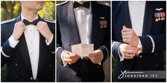 Air Force Wedding captured by @Jonathan Ivy with Jonathan Ivy Photo