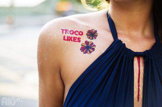 RIOetc | as tattoos carnavalescas da coleção #Fervereiro, mais uma parceria RIOetc + Le Petit Pirate.: