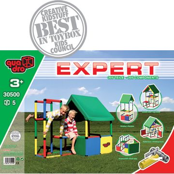 QUADRO Expert Construction Kit - memories from Kinder through 5th Grade at my friend's house growing up. Build your own climbing set. They still sell it and my girls are getting it at age five!