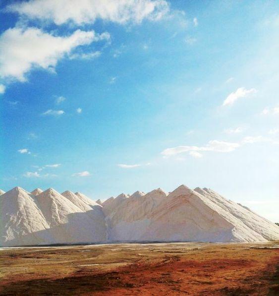 Les salt mountains à Palma de Majorque, que visiter à majorque: