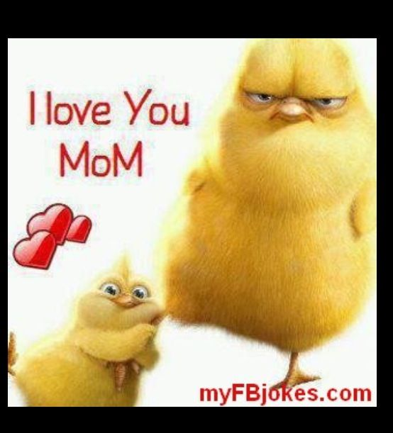 Love Quotes For Mom: I #love You #Mom I Can't Stop #giggling B/c The #chick It