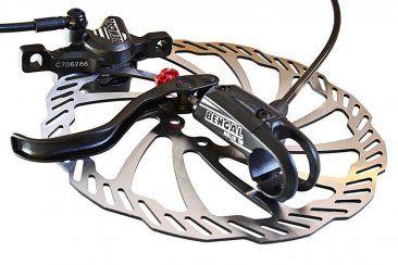 HELIX 7B Scheibenbremse Mtb - Bengal Hydraulik Disc Bremse schwarz.