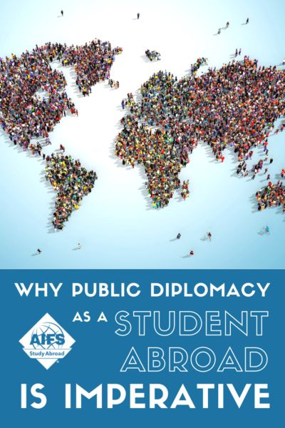 AIFS Study Abroad stands united in support of cultural exchange through public diplomacy, and we encourage our participants to do the same.