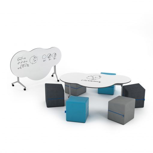 Sunshineonacloudieday Foldable Collection With Missott Cube Ottomans Cube Ottoman Collaborative Learning Spaces Foldables