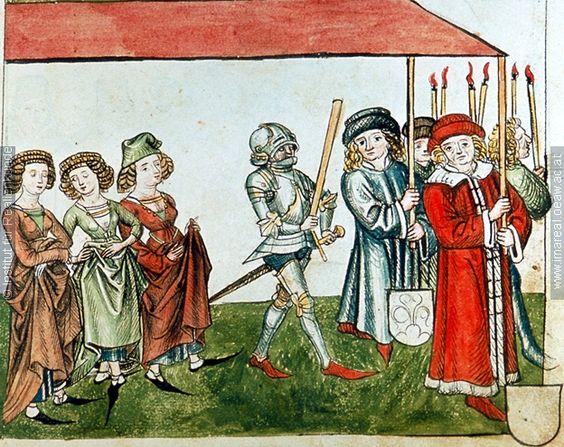 Konzil von Konstanz  Prozession   Dieses Bild: 006704     1465 ; 1475 ; Wien ; Österreich ; Wien ; Österreichische Nationalbibliothek ; cod. 3044 ; fol. 45r
