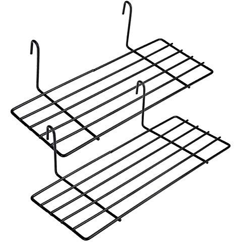 5/St/ück Metall Drahtgitter Schreibtisch Organizer schwarz