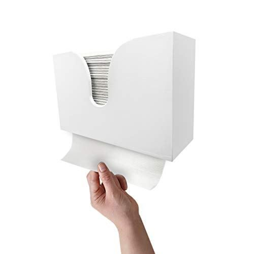 Essentially Yours Bamboo Paper Towel Dispenser Paper Towel Holder