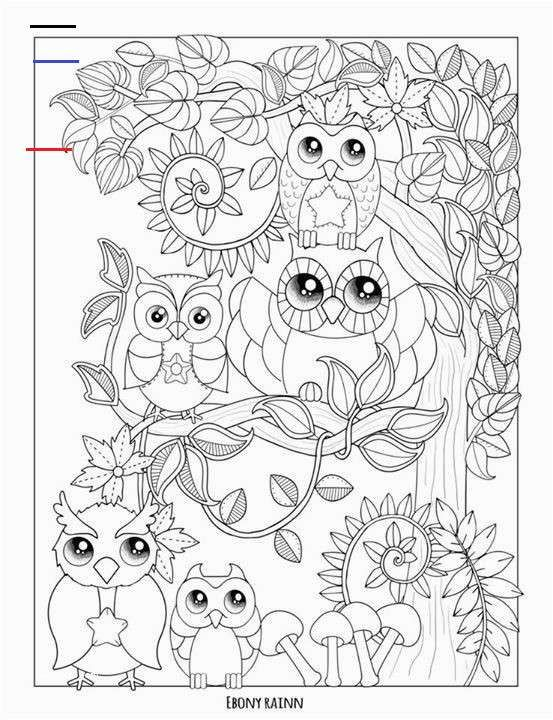 Color By Number Owl