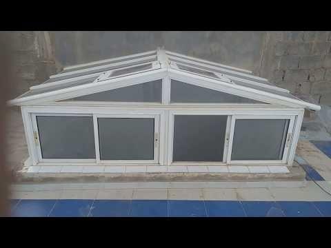 ضواية المنيوم وزجاج مقاوم للكصر Youtube Greenhouse