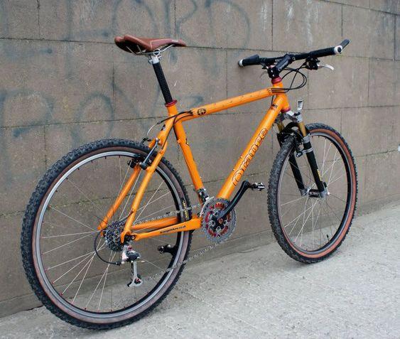 Bildergebnis Fur Orange Mtb Retro Fahrrad Mtb Klassiker