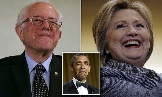 Who did Obama vote for today? Bernie or Hillary? White House won't say #DailyMail