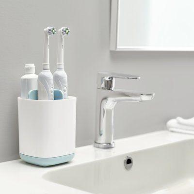 Joseph Joseph Easystore Toothbrush Holder Finish Blue Brushing Teeth Toothbrush Holder Bathroom Accessories