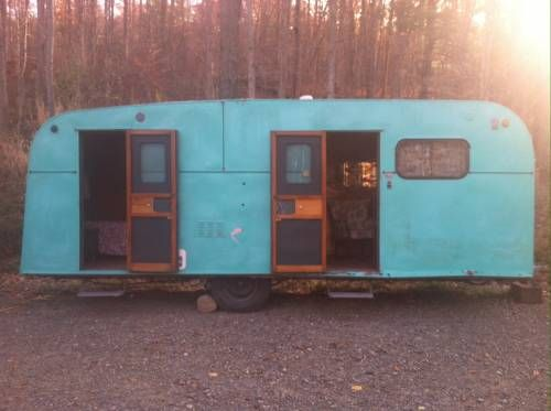 "1948 Safeway Coach $9500 this reminds me of ""The Long Long Trailer &q"