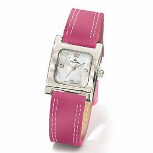 Steel Imitation Mother Of Pearl Face Pink Leather Strap Louis Arden Watch (Watch)  http://www.amazon.com/dp/B0002F68WW/?tag=quickdiet0f-20  B0002F68WW