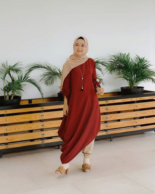 Model Baju Tunik Nissa Sabyan 12
