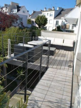Garde-corps terrasse terrasse Pinterest Patios, Swimming pools